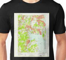 USGS TOPO Map Rhode Island RI East Greenwich 353280 1957 24000 Unisex T-Shirt