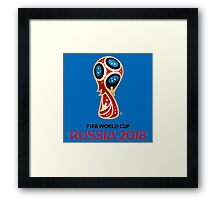 Russia World Cup 2018 Framed Print