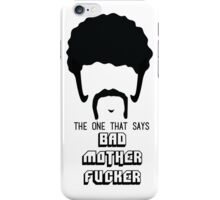 Pulp Fiction - Bad Mother Fucker iPhone Case/Skin