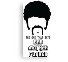 Pulp Fiction - Bad Mother Fucker Canvas Print