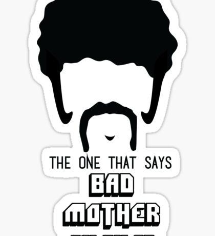 Pulp Fiction - Bad Mother Fucker Sticker