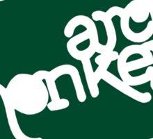 Arctic Monkeys - Green logo Sticker
