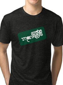 Arctic Monkeys - Green logo Tri-blend T-Shirt
