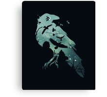 Crow game of thrones Canvas Print
