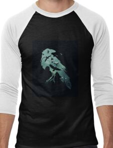 Crow game of thrones Men's Baseball ¾ T-Shirt