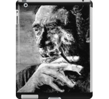 BUKOWSKI - LOVE version - black iPad Case/Skin