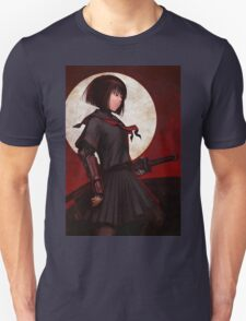 Anime Katana Girl At Night T-Shirt