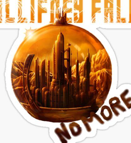 Gallifrey Falls No More Sticker
