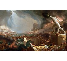The Course of Empire: Destruction by Thomas Cole (1836) Photographic Print
