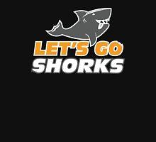 Let's Go Shorks - Version 2 Teal Unisex T-Shirt