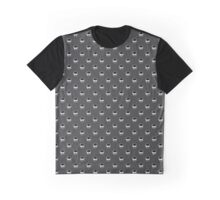 Skull Dot, Dark Gray Graphic T-Shirt