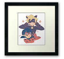Miraculous Victory! Framed Print