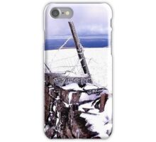 Whernside, Leaving the summit iPhone Case/Skin