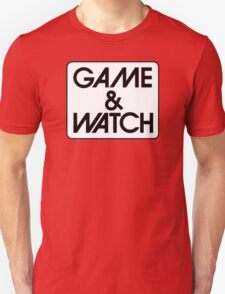 Game & Watch Logo Unisex T-Shirt