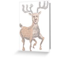 Stag Buscemi Greeting Card