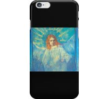 'Half Figure of an Angel' by Vincent Van Gogh (Reproduction) iPhone Case/Skin