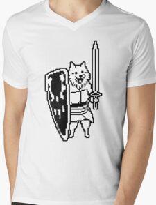 Dog from Undertale Mens V-Neck T-Shirt