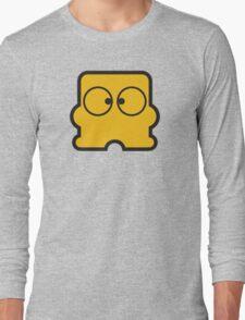 Famicom Disk System Logo Long Sleeve T-Shirt
