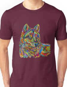 Psychedelic Wolf Unisex T-Shirt