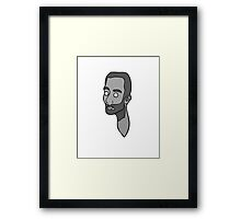 Grey Matthew Framed Print