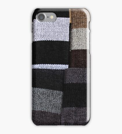 Knit Scarves iPhone Case/Skin