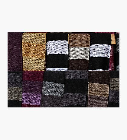 Knit Scarves Photographic Print