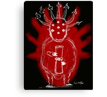 Seven Horns and Seven Eyes 2 Canvas Print