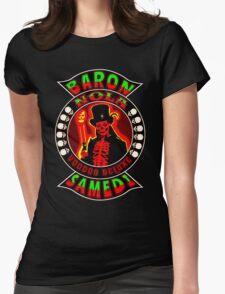 Baron Samedi Colour 2 Womens Fitted T-Shirt