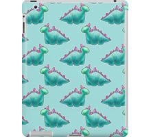 Blue Dinosaur Pattern iPad Case/Skin