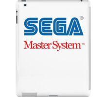 Sega Master System Logo iPad Case/Skin