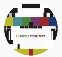 Extreme tone test pattern with colour One Piece - Long Sleeve