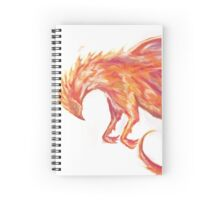 Mythical Combination: Pheonix + Griffin Spiral Notebook