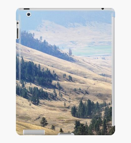 Pristine Panorama- National Bison Range, Montana iPad Case/Skin