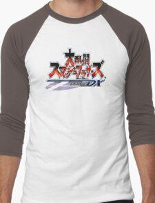 Super Smash Bros Melee Japanese Logo Men's Baseball ¾ T-Shirt