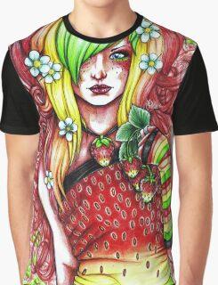 Strawberry Graphic T-Shirt