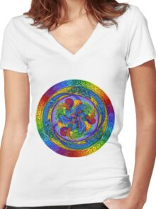 Epiphany Women's Fitted V-Neck T-Shirt