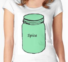 Green Spice Jar Women's Fitted Scoop T-Shirt