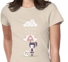 Rainy Days Womens Fitted T-Shirt