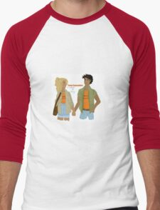 Percabeth Camp Counsellors Men's Baseball ¾ T-Shirt