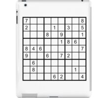 Sudoku Hard iPad Case/Skin