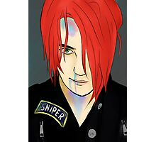 Gerard Way/Party Poison Photographic Print
