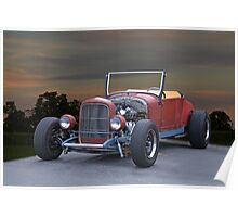 1923 Ford Roadster 'In Process' Poster