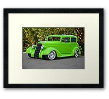1935 Oldsmobile Two Door Sedan Framed Print