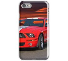 Shelby Mustang GT500 iPhone Case/Skin