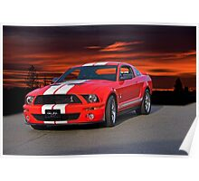 Shelby Mustang GT500 Poster