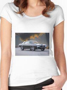 1969 Pontiac Firebird 400 Women's Fitted Scoop T-Shirt