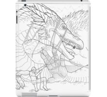 Hoarding Serpent iPad Case/Skin