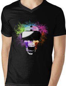 Virtual Joy Mens V-Neck T-Shirt