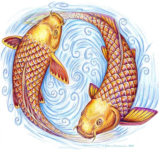 Pisces Fish by Rebecca Wang