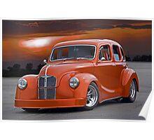 1949 Austin A40 Devon 'Pro Street' Poster